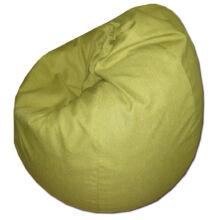 Zöld csepp alakú babzsák