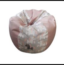 Unikornisos rózsaszín mini csepp babzsák