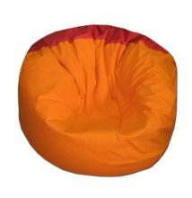 Piros-narancs-fánk-babzsák
