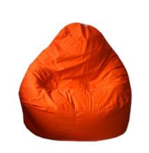Narancssárga vászon relax fazonú babzsák