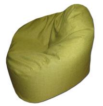 Kivizöld relax fazonú babzsák