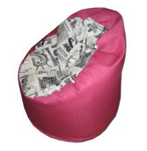 New york-Pink standard babzsák