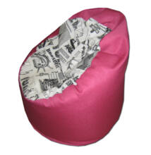 Pink-NewYork-babzsák