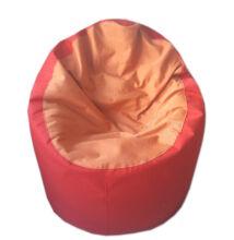 Piros-narancssárga standard babzsák