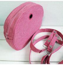 Moon light obag táska belsőpink, pánttal és clippel