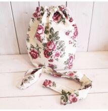 Basket obag táska belső szett, rózsás