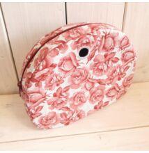 Moon light obag táska belső rózsás, bordó