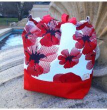 Rosie táska pipacsos