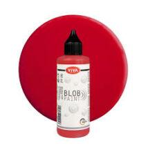 Blob festék piros