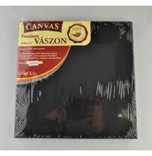 Feszített vászon fekete 24X24cm