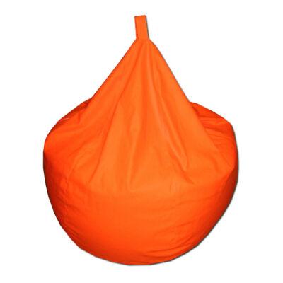 Csepp-babzsák-narancs