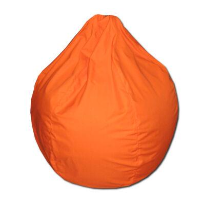 Narancs vászon mini csepp alakú babzsák