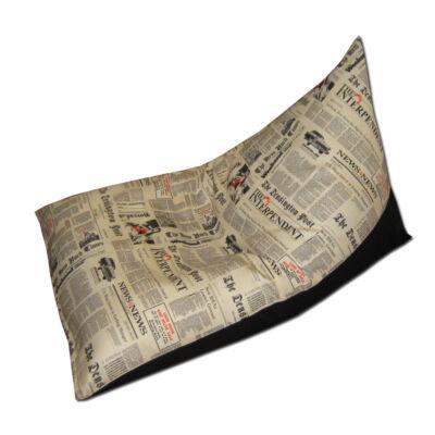 Tüske babzsák Daily News fekete