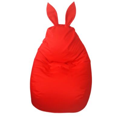 nyuszis-babzsák-piros