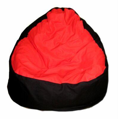 piros-fekete-relax-babzsák