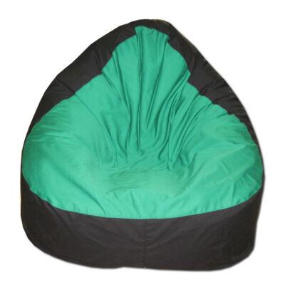 Zöld-fekete-relax-babzsák
