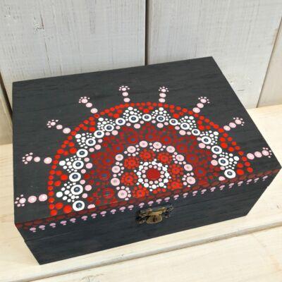 ajándék doboz mandalás