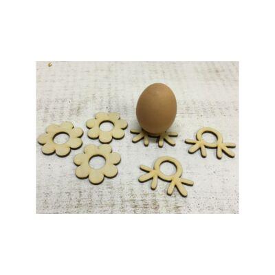 Fa alap tojás pontfestéshez